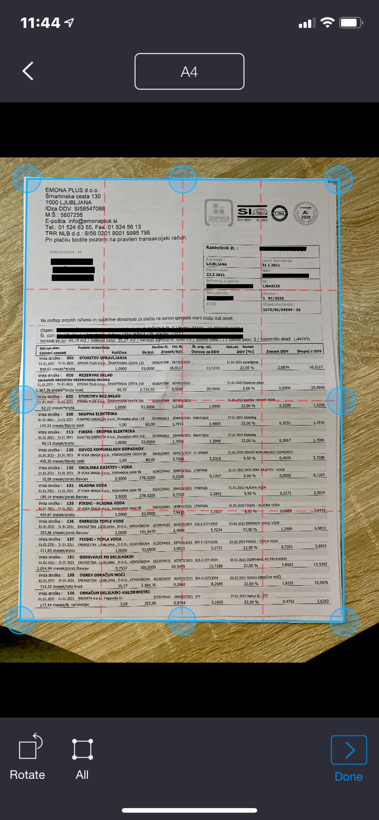 My Fax - send fax from smartphone screenshot